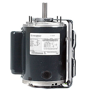 B318 3 4 hp 115 230 volt 1 phase motor vent fab for 1 4 hp 3 phase motor