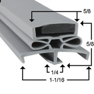 Traulsen Gasket 23 1/2 x 59 1/2 - Profile 166