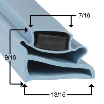 Delfield Gasket  21 3/4 x 27 1/4 - Profile 802