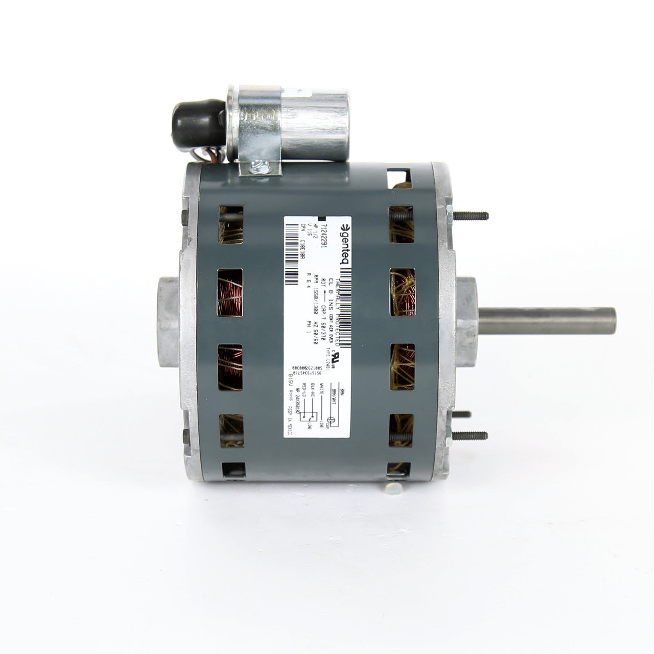C10e10a loren cook oem replacement 1 2 hp motor c10e10a for Restaurant exhaust fan motor replacement