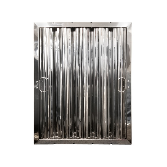 """20"""" X 16"""" Stainless Steel Grease Hood Filter"""