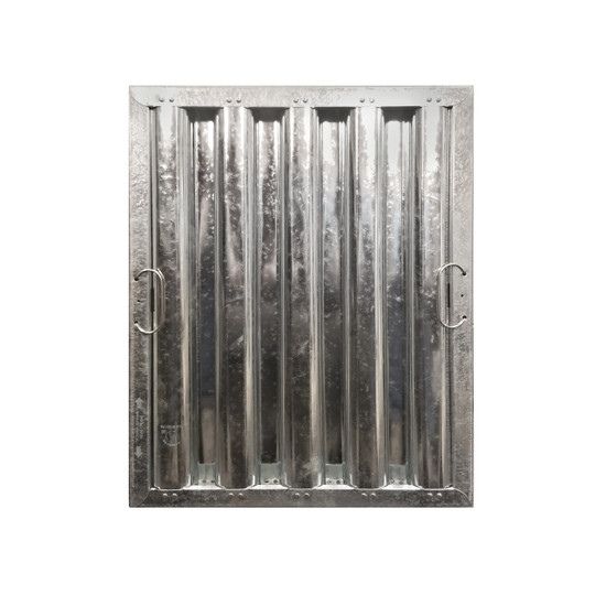 """16"""" X 25"""" Stainless Steel Grease Hood Filter"""