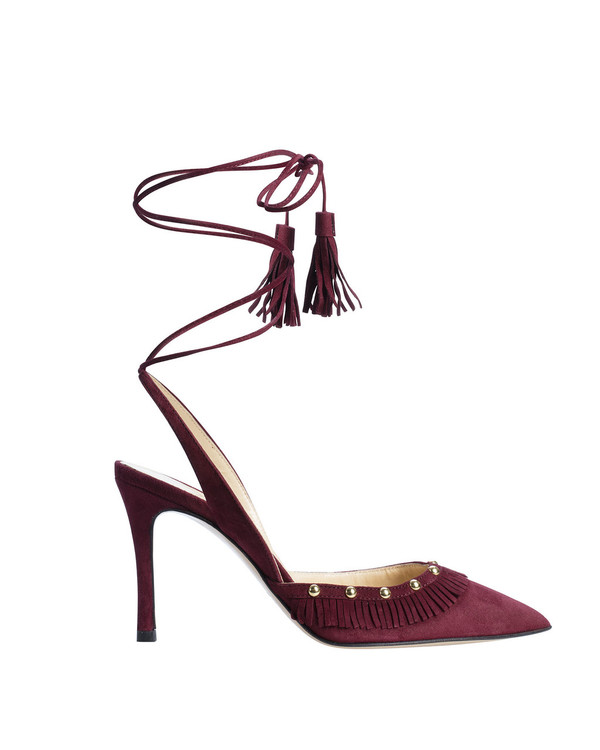 Bianca Buccheri 6106Bb Haine Pump Bordo