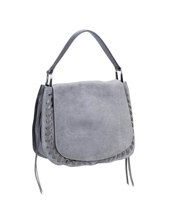 Gianni Chiarini Bs5356Gc Leather Bag Grey