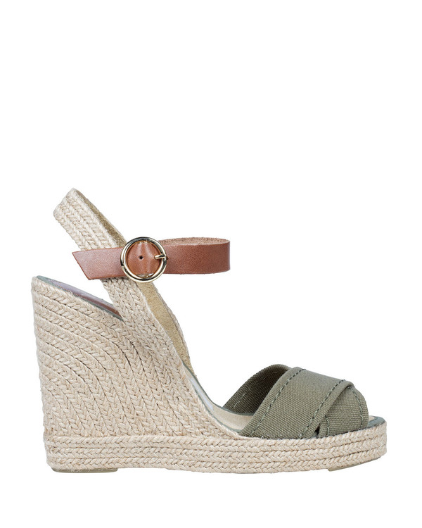 By Bianca 3521250Bb Jenna Wedge Khaki