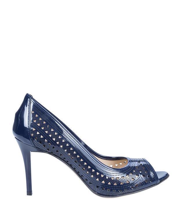 Bianca Buccheri 8650Bb Mara Heel Blue