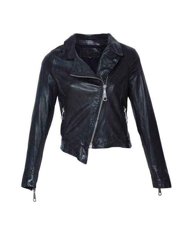 Bianca Buccheri Celine Leather Jacket Black