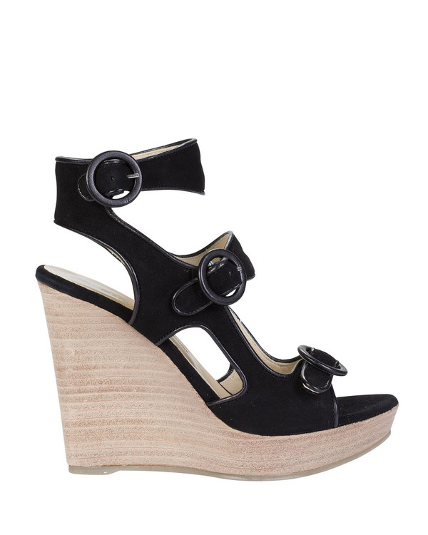 Bianca Buccheri 1094Bb Aria Wedge Black