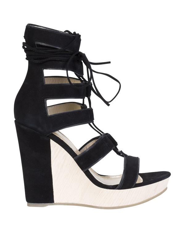 Bianca Buccheri 1099Bb Cameo Wedge Black