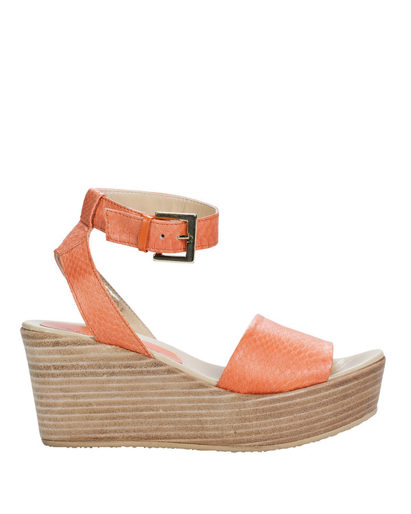 Bianca Buccheri 993bb Sardinia Wedge Orange