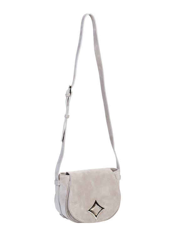 Via Repubblica 9782Vr Leather Bag Beige