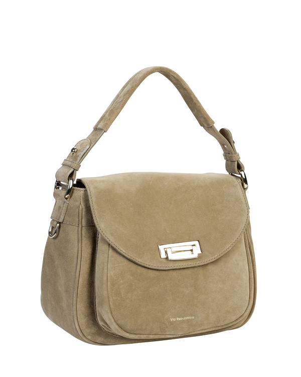 Via Repubblica 9784Vr Leather Bag Camel