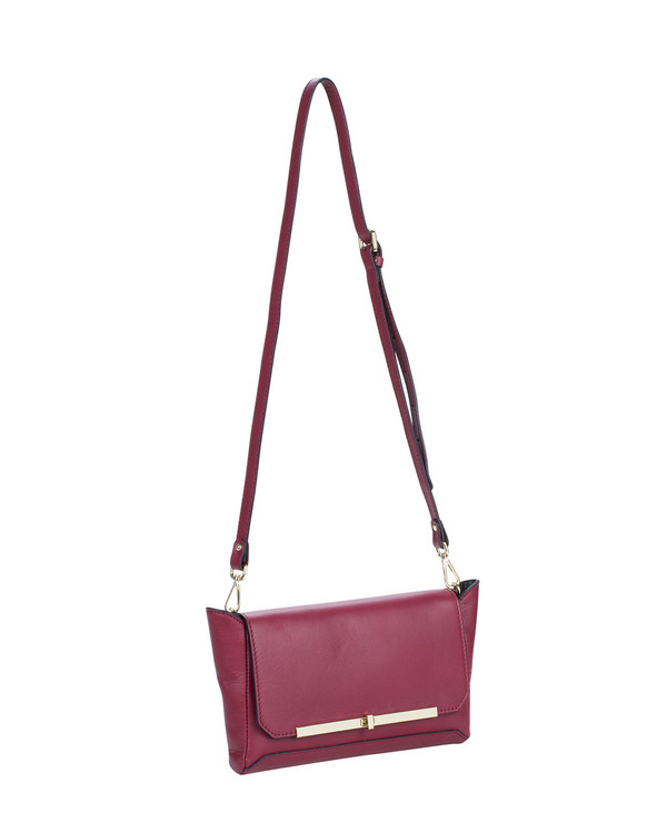Gianni Chiarini Bs4625Gc Leather Bag Burgundy