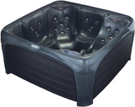 Crossover 730L Hot Tub - Metallic Gray & Black