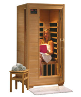 1-person WaveTec I Carbon Infrared Sauna