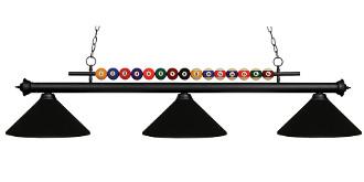 Pool Shark Billiard Light Fixture