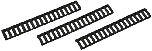 Falcon Industries Inc 3 Pack Black Low Profile Rail Cover 18 Slot
