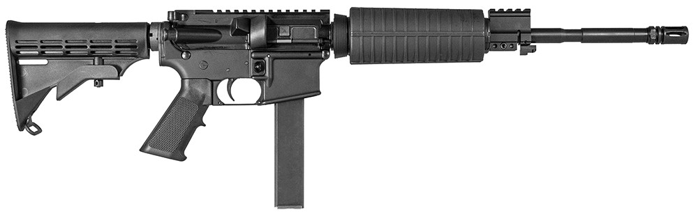 Cmmg Mk9le Or Sa 9mm 16.1[dquote] 32+1 6-pos Syn Stk Black