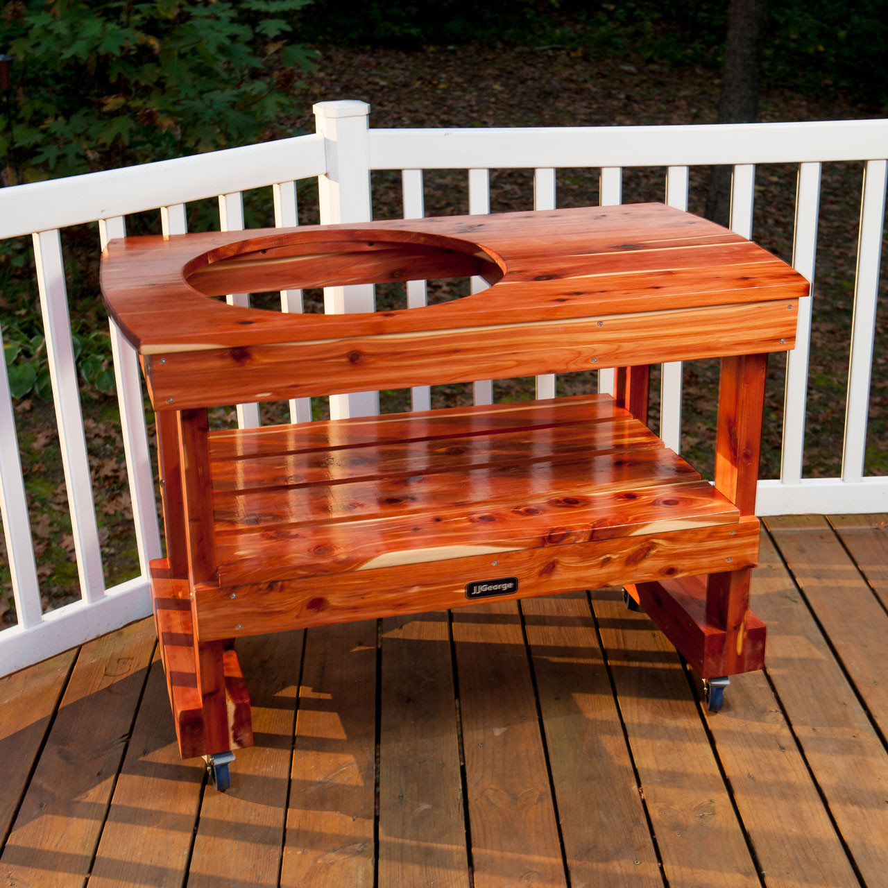 Big Green Egg Outdoor Kitchen: Big Green Egg Compact Table