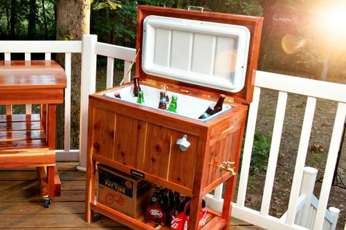 Nukshuk Cooler Handmade Wooden Cooler Jjgeorge