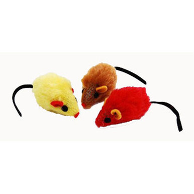 mice in house zanies plush mouse single assorted softpaws 12770