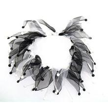 Charming Party Collar - Black/White