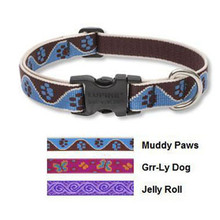 Lupine 3/4 Inch Wide Dog Collar