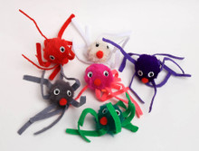 Silly Squid Cat Toy - Single (Assorted)