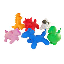 Charming Balloon Squeaker Dog Toy - Single (Assorted)