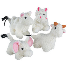 Zanies Fleecy Friends Dog Toy - Single (Assorted)