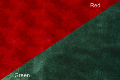 Red and Green Muffin Throw Blanket