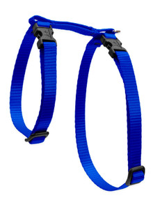 Blue harness