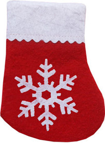 Snowflake Stocking Toy