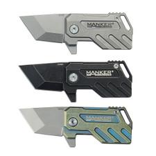 Manker Elfin Compact EDC Knife Titanium M390 Steel Folding Knife