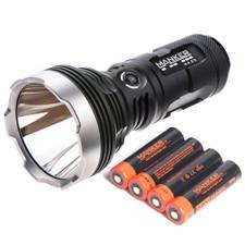 Bundle: Manker MK35 + 4x 3400mAh 18650 Rechargeable Batteries