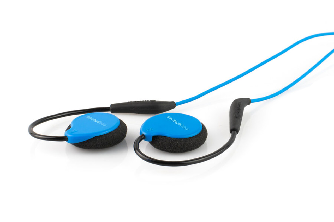 Bedphones - The World's Smallest On-Ear Headphones (Gen. 3.5) - Blue