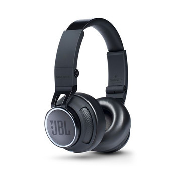 JBL Synchros S400BT+ Wireless On-Ear Bluetooth Stereo Headphone - Jet Black