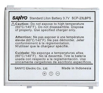 Sanyo SCP-23LBPS Battery