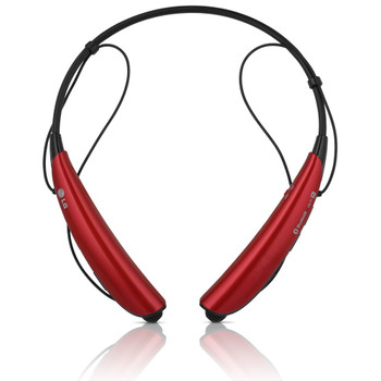 LG Tone Pro HBS-750 Red Bluetooth Stereo Headset