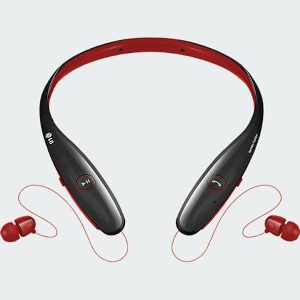 Red LG HBS-900 Tone+ Infinim Bluetooth Headset