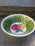 Vintage -  Retro Handpainted Bowl, Terra