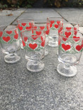 Vintage - Snaps Glass, Heart