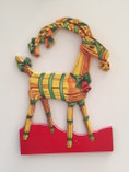 Vintage - Christmas Goat Table Decoration