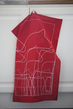 Anna Viktoria - Dalahorse Tea Towel, Red