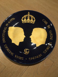 Vintage - A royal wedding plate