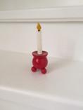 Vintage - Mini Wooden Candle Light Holder