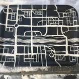 Vintage - Tray, Skellefteå 35 x 27 cm