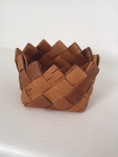 Vintage - A Small Birch Bark Container