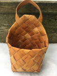 Vintage - Birch basket with a Strap
