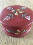 Vintage - Hand-Painted Red Kurbits box